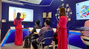 SmartEdu Classroom model paticipated Education Forum & School Exhibition 4.0