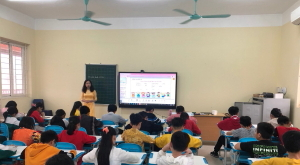 Implementation of Smart Education solutions at Tan Trieu primary school