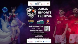 First time online Japan E-Sports Festival for Vietnamese and Japanese audiences